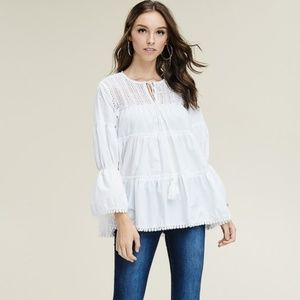 Tiered Flair Top
